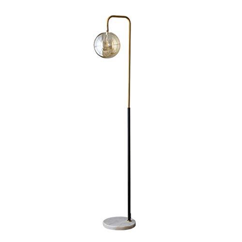 ZGP-LED Luces de piso Nordic simple lámpara de pie creativa de la sala de estar del sofá del dormitorio de noche Estudio vertical Tabla Protección de los ojos de la lámpara del interruptor de pie Lámp