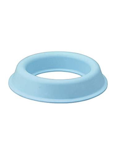 プチエイド 茶碗 お椀 補助 食器受け ブルー M 介護 食事サポート バリアフリー 日本製 茶碗まくら HS-N6