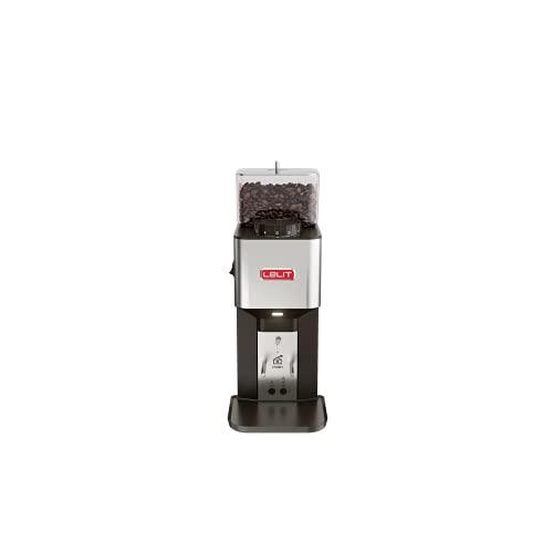 Lelit William PL71 Semi-professionelle Kaffeemühle-Edelstahl-Gehäuse-Mikro-regulierung des Mahlens, Stainless Steel