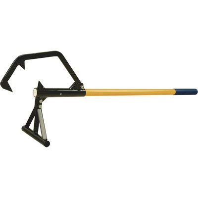 Roughneck Double Hook Steel Core A-Frame Timberjack - 48in.L