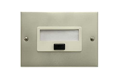 FEB Targhetta con nome pulsante 2090 / CH, argento