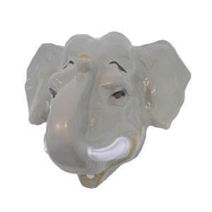 Party-Discount Hartplastik Tier-Maske für Erwachsene Elefant