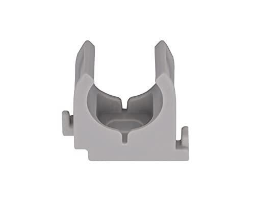 Rohrclip 20 mm Glasfaserverstärkter Kunststoff Set 30 Stück