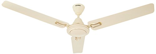 Amazon Brand - Solimo Swoosh 1200mm Ceiling Fan (Ivory)