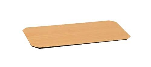 ルミナス メタルラック用パーツ リバーシブルウッドシート ポール径19mm・25mm用パーツ 両面使用可 ナチュラル×ダークブラウン (幅60×奥行35cm棚用)