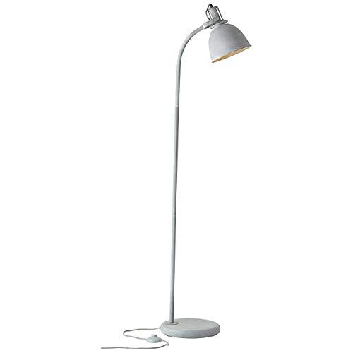 Brilliant Jesper vloerlamp E27 23758/70 hoogte 156,5 cm 28 cm breed. 46,5 cm. Metaalkleur beton grijs, 40 W