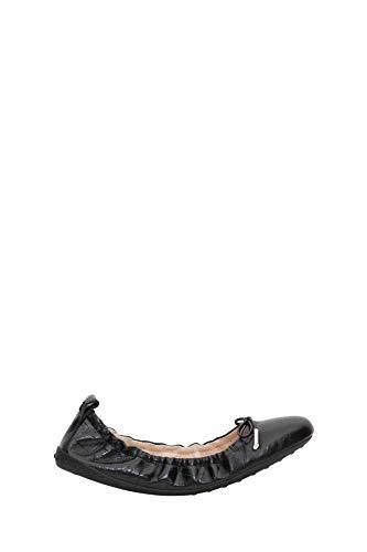 Luxury Fashion | Tod's Dames XXW12C0CJ10NBWB999 Zwart Leer Ballerina's | Lente-zomer 20