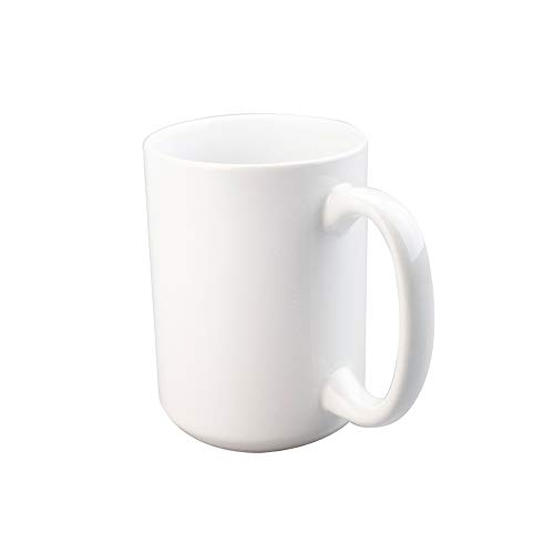 CINY Tazas de Café de Porcelana 400 ml, Taza de Café Té C