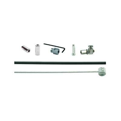 XLC Kit Cable de Freno para Freno Tambor 1700/2350mm 1 Boquilla Negro