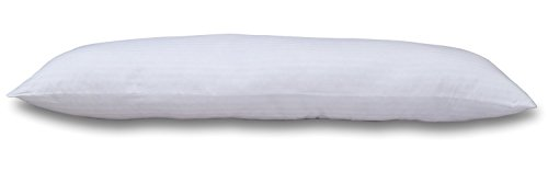 Rohi Ultra Soft Body Pillow - Long Side Sleeper Pillows - Polycotton Cover...