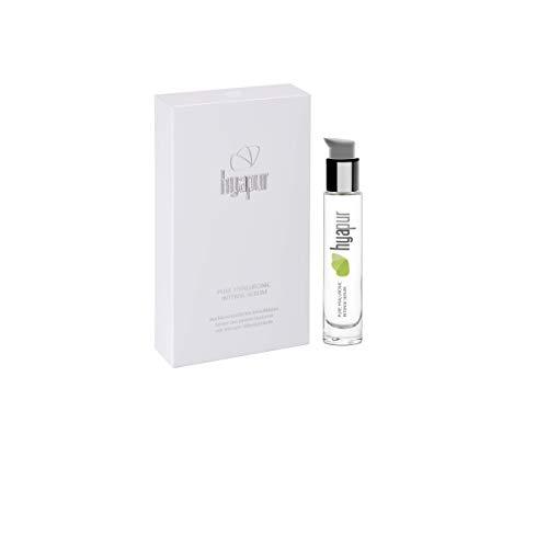 hyapur® - Hyaluronsäure Serum hochdosiert - Pures Hyaluron Serum mit Silber im 15ml Flakon - zur täglichen Anti-Aging-Pflege - Made in Germany