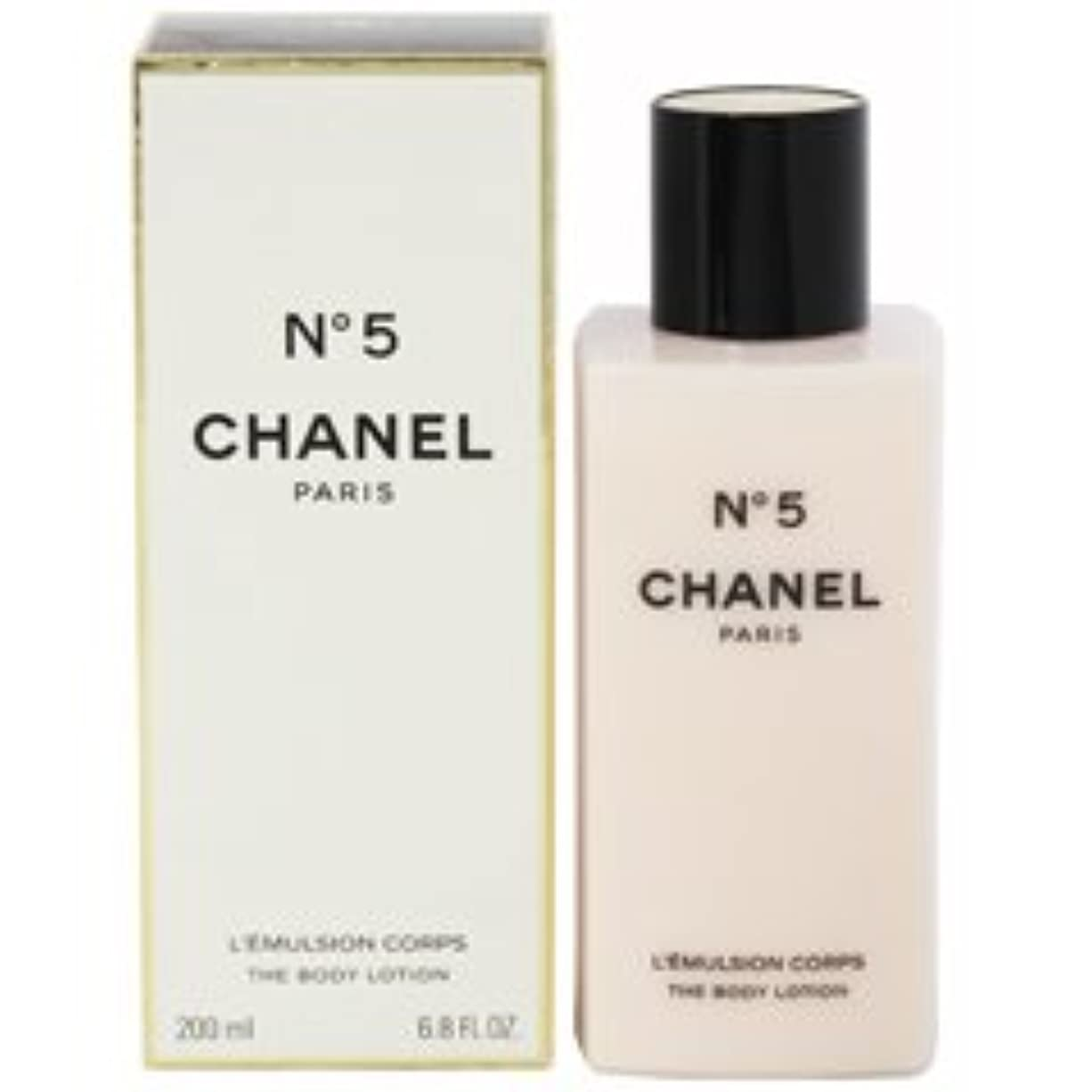 過去地味な引退したChanel No. 5 (シャネル No. 5 ) 6.8 oz (200ml) Body Lotion for Women