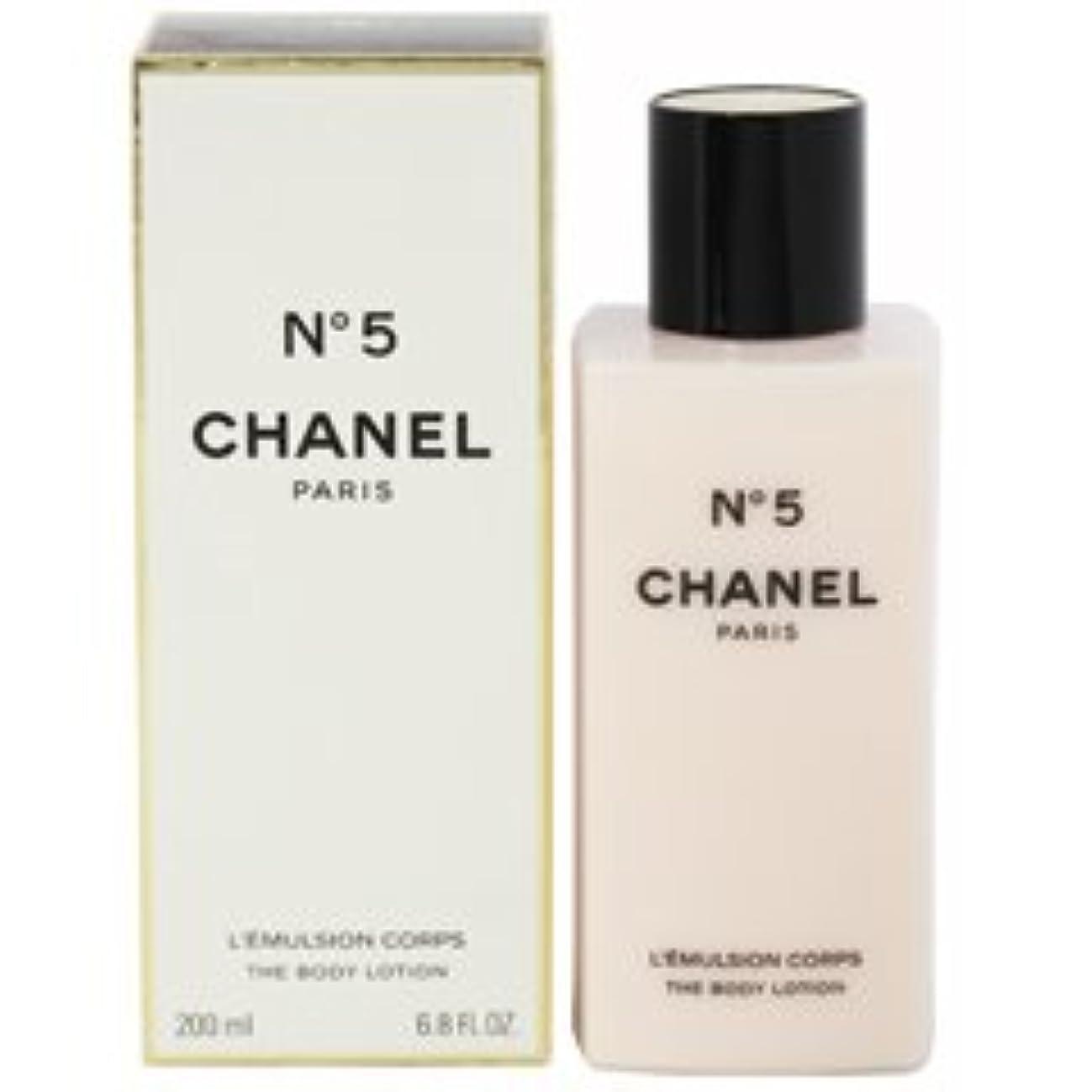 有罪好き人類Chanel No. 5 (シャネル No. 5 ) 6.8 oz (200ml) Body Lotion for Women
