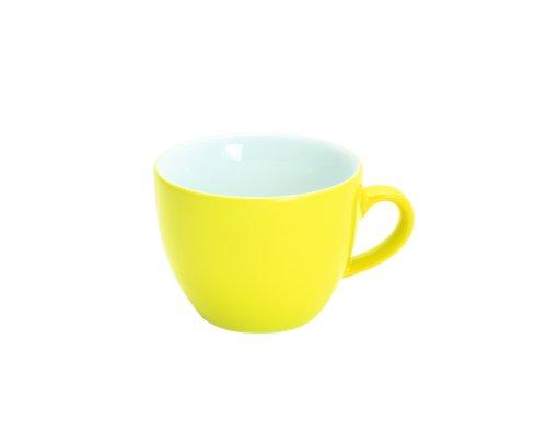 Kahla Pronto Colore Espressotasse, Kaffee Tasse, Becher, Porzellan, Zitronengelb, 80 ml, 204715A70412C