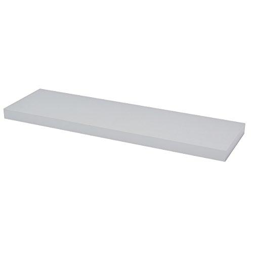 Duraline Zwevende Wandplank - Aluminium, Zilver