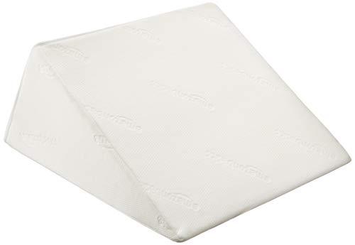 AmazonBasics - Almohada de cuña de espuma viscoelástica, 61 x 61 x 35,5 cm