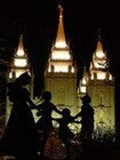 5D Diamond Painting Kits Drill Embroidery DIY Crystals Rhinestone Painting Pasted Paint by Number Kits Cross Stitch (Salt Lake City Silhouettes LDS Temple)