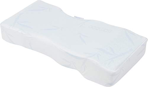 Back Support Systems Knee-T Memory Foam Leg Pillow Patented - Best Side Sleeper Pillow for Back Pain Relief, Hip and Sciatica Pain, Side Sleepers (Be Cool with Bamboo, Long)