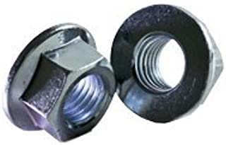 Quantity: 500 Zinc//DIN 6923 M5-0.80 Hex Flange Nuts//Non-Serrated//Class 8