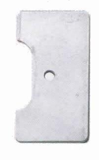 ダイアコンペ リア用ブレーキ取り付けプレート カラー:シルバー (トラックブレーキセット用補修部品) DI...