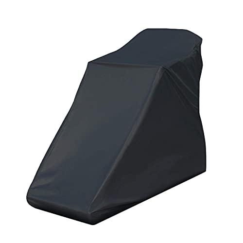 Ablerfly Cubierta para cinta de correr, resistente al agua y engrosada, para equipos de fitness, cubierta contra el polvo, tela resistente, apto para interiores o exteriores (negro)