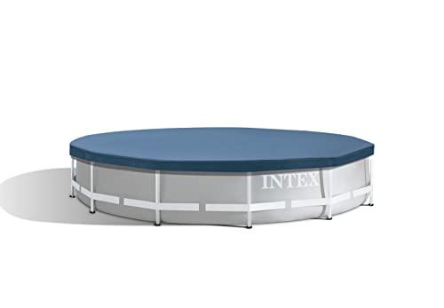 Intex Round Pool Cover - Poolabdeckplane - Ø 366 cm - Für Metal und Prism Frame Pool