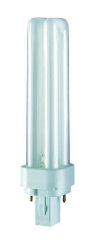 Osram D 26 W/840 Cool White - Lámpara fluorescente compacta, compacta fluorescente, tubular, 2 pines