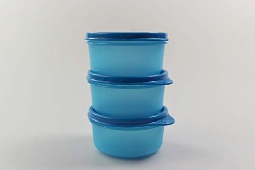Tupperware Kühlschrank Julchen (3) 200ml blau Dose Box Behälter