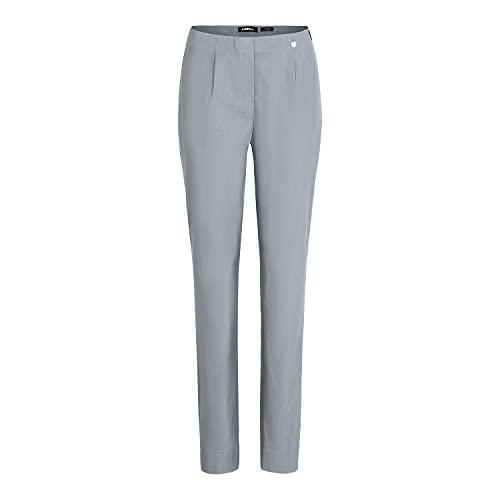 Robell Bengaline - Pantalones elásticos para mujer con texto 'Ich Will Marie', gris perla, 48