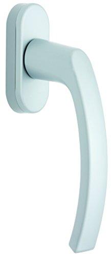alpertec Poignée de fenêtre Grille Olive Revêtement rasterung 45 ° fenêtre Olive pour haute température blanc, 40120800