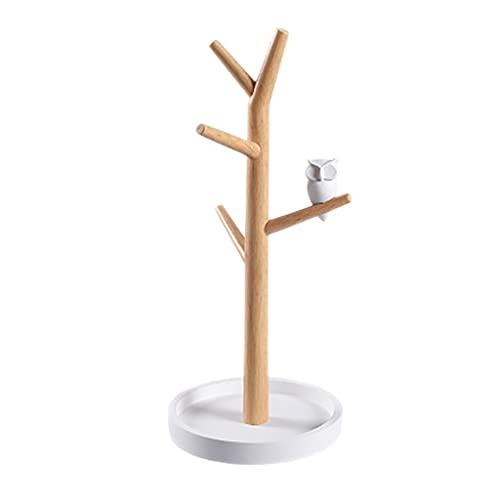 Aiglen Árbol En Forma De Joyería De La Joyería Collar De La Joyería del Anillo De La Joyería De La Exhibición De La Exhibición De La Exhibición De La Joyería del Estante De La Pulsera