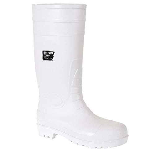 stivali bianchi Portwest FW84 S4 Stivali di sicurezza in gomma