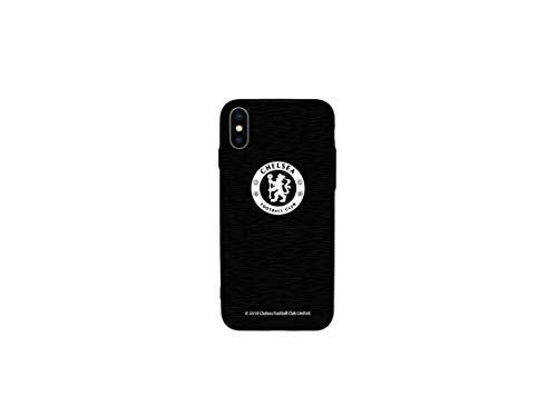 Chelsea F.C. Custodia in Alluminio per iPhone X. - Nero - Taglia Unica