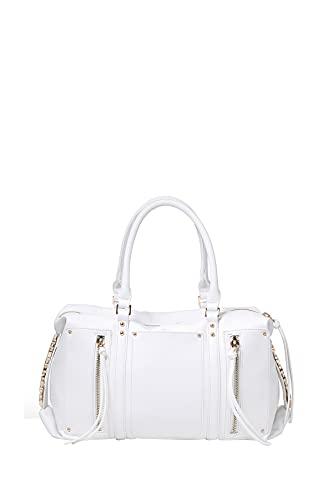 BRACCIALINI Damen Handtasche Ginger weiß Mod. B16050, Weiß Einheitsgröße