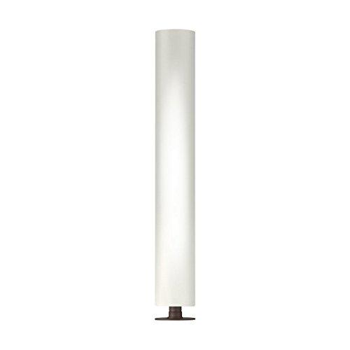 Fantasia Hilton Textil Stehleuchte Kolarz-Leuchten in Corten weiß | Stehlampe Modern Dimmbar | Lampe E27