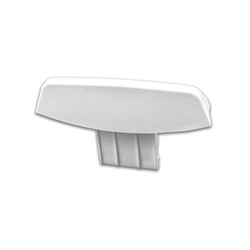 vhbw Tirador de puerta de repuesto compatible con Indesit WDP 2000 XEX AQ057290000, WDP 2001 XEX AQ057280000 lavadora secadora