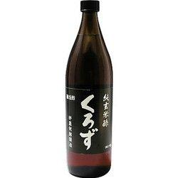【ユニマットリケン】純玄米酢 くろず 900ml ×20個セット