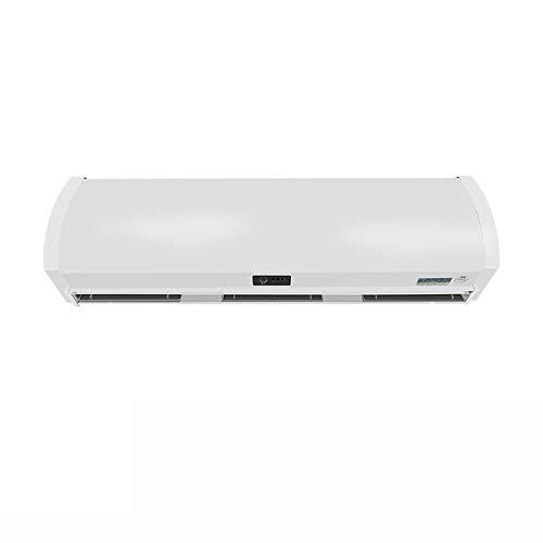 Air Cooler 36-Zoll-Fliehkraft-Luftschleier, handelsüblicher Innenluftschleier, Luftschleier, effektive Geräuschreduzierung, weißer Luftschleier, 2-Gang-Geschwindigkeitsregelung, mit Fernbedienung