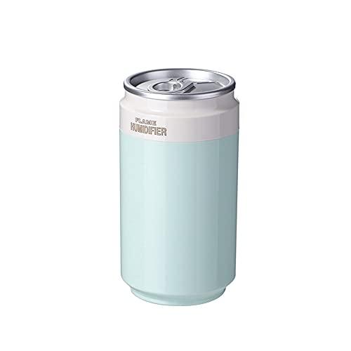 Humidificadores Portátiles,bebida Forma De Botella Humidificador De Aire Aroma Difusor De Aceite Esencial Ultrasónico Para Coche De Niebla Difusor USB Humidificador Más Fresco De Aire