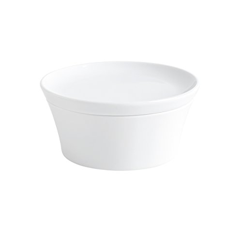 Kahla Magic Grip weiß Soufflé-Form 14cm mit Deckel