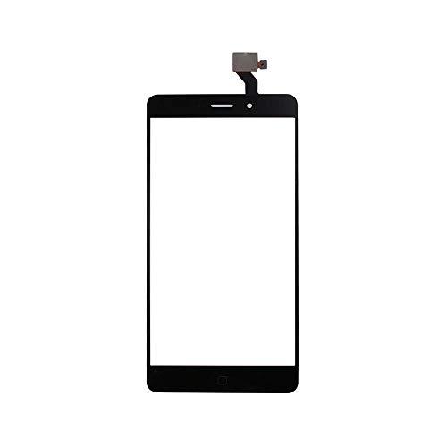 JayTong Pantalla de Repuesto Digitalizador Pantalla Táctil Frontal Vidrio con Gratis Herramientas para Elephone P9000 / P9000 Lite / P9000E (Not LCD Display) Negro