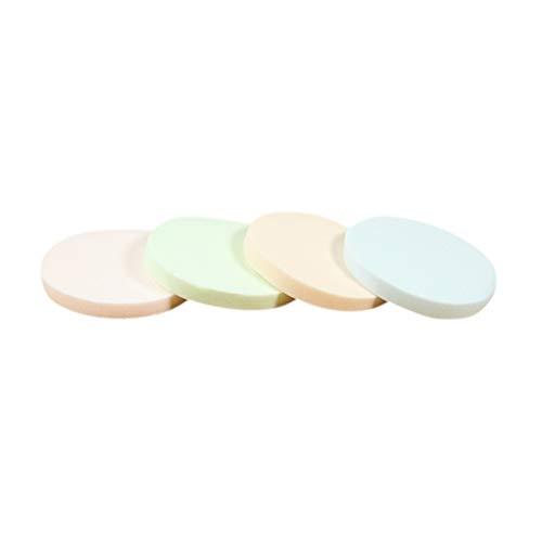 Frcolor 40pcs base cosmétique de poudre de bouffant mélange d'éponges faciales pour l'application de maquillage (couleur mélangée)