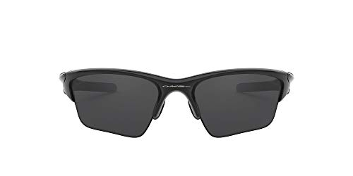 Oakley Half Jacket 2.0, Gafas de Sol para Ciclismo, Hombre, Polished black, 62 mm