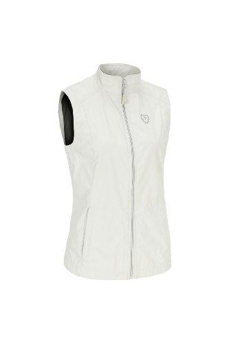 Maier Sports Veste Softshell pour Femme, 260302 adour Blanc Blanc 48
