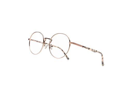 VECIEN Blue Filter Retro Runden Metall Sehhilfe brille, die zum Lesen auf Computer, PC, Mobiltelefon und Fernseher verwendet wird, um die Ermüdung der Augen von Männern und Frauen zu verringern