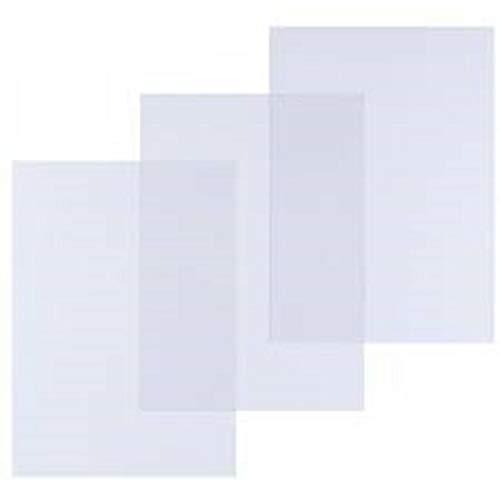 Pavo - Tapas para encuadernación (A4, PVC, 25 unidades), transparente
