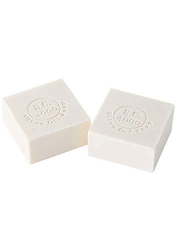 B.C.4000 感謝の手紙が1000通届く 洗顔石鹸 オリーブオイル 無添加 敏感肌 100g×2