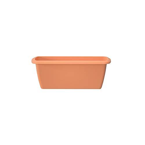 Erhard-Trading Oliva - Jardinera de 40 hasta 60 cm, para balcón, barandilla de jardín, multicolor...