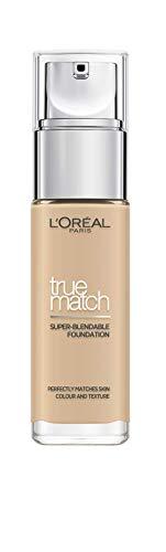 L'Oreal Paris True Match Liquid Foundation, Skincare Infused with...