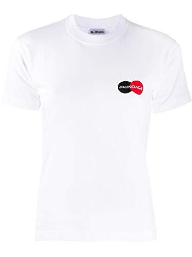 Balenciaga Luxury Fashion Damen 612964TIV799000 Weiss Baumwolle T-Shirt | Jahreszeit Permanent